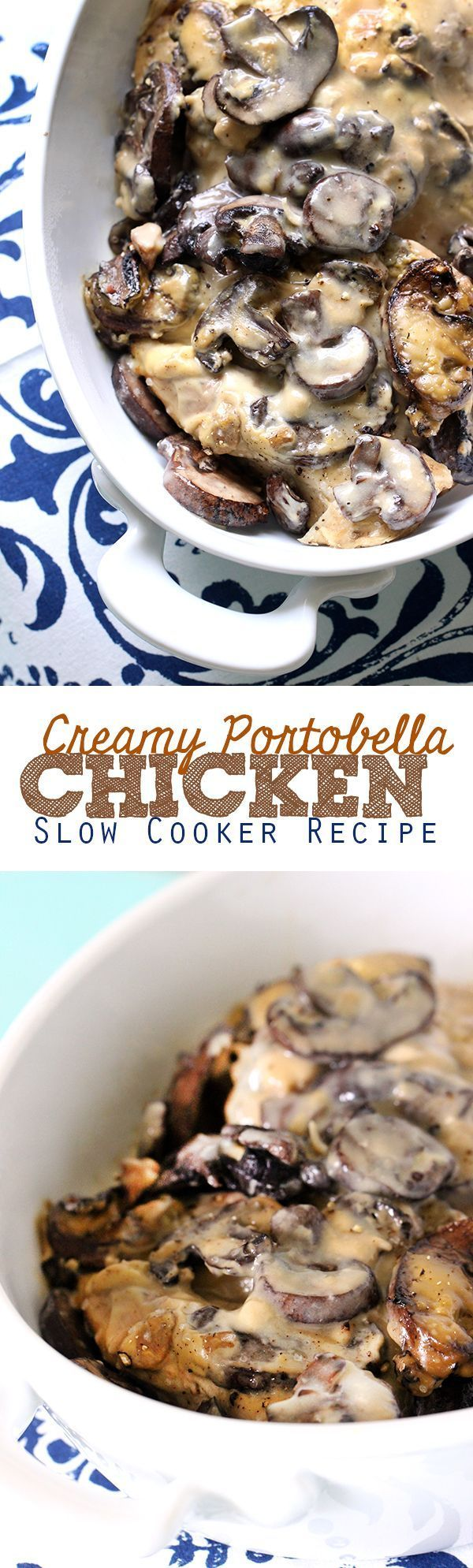 What!? 3 Ingredients to make this slammin' slow cooker chicken. #slowcooker #crockpot