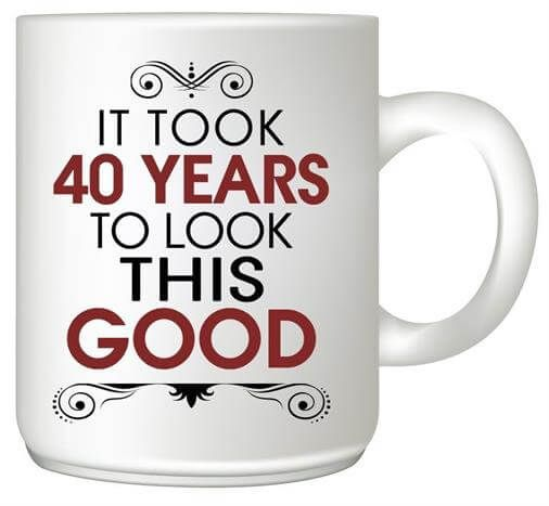 Our Delightful List Of Gift Ideas For A 40 Year Old Woman Will Ensure You Re Seen 40th Birthday Gifts For Women 40th Birthday For Women Birthday Cards For Mom
