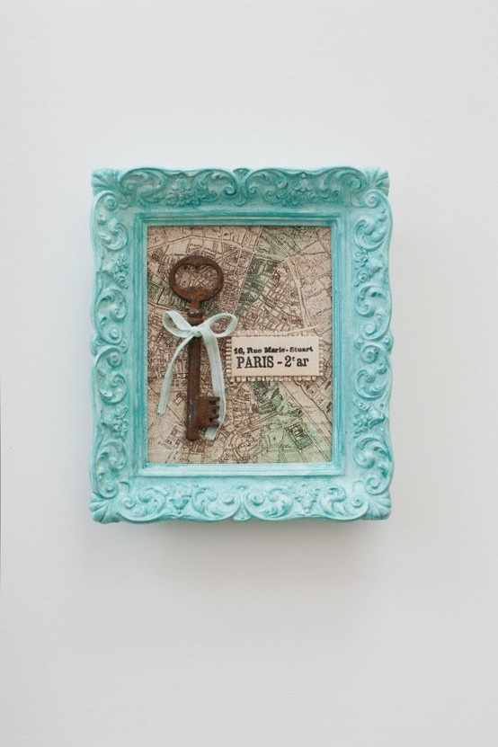Skeleton Key For Paris A Great Idea Nursery Or Wall Art More