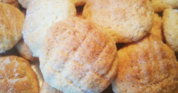 HMで材料4つメロンパンクッキー by めしやん [クックパッド] 簡単おいしいみんなのレシピが262万品