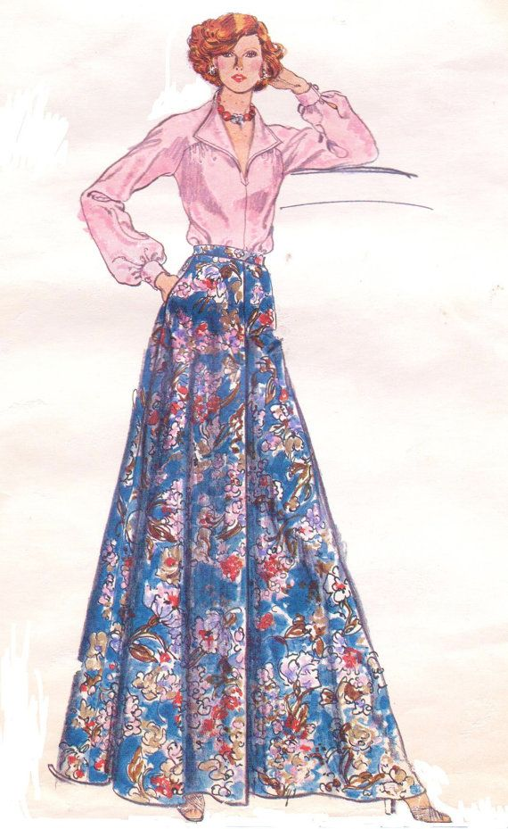 1970s Very Easy Vogue Sewing Pattern 9046 Womens by CloesCloset, $15.00