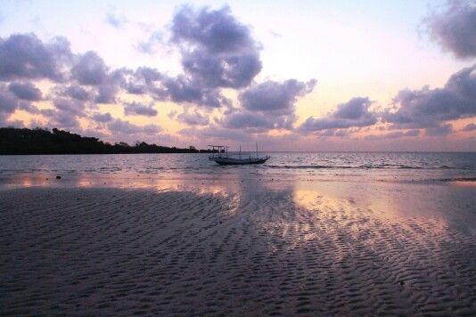 Sunset at Pulau Gili