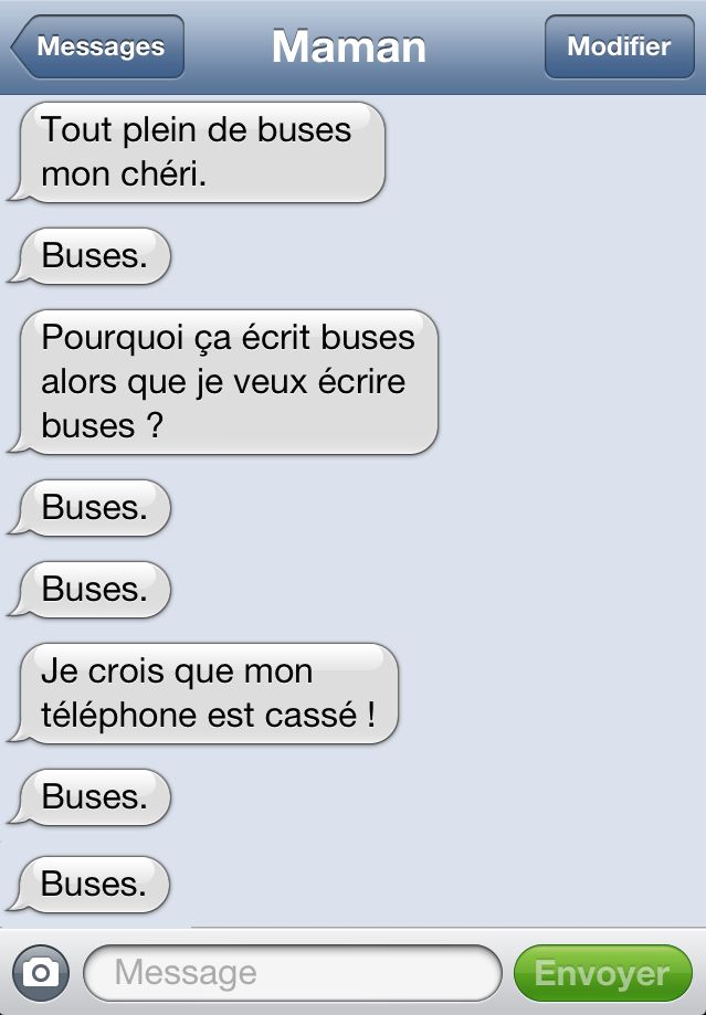 25 textos hilarants de ta mère, qui vont te faire regretter le jour ou elle a…
