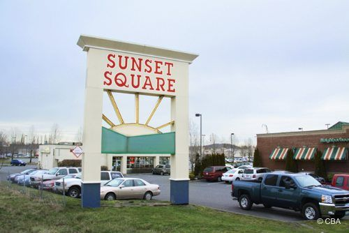 Sunset Square – I-5, Exit 255 Features K-Mart, a major fabric store, grocery store, drug store, four-plex theater, a Goodwill and several specialty stores. There are a variety of restaurants including The Grace Cafe with bagels, pies, sandwiches and more. Across the street is Lowe's Home Improvement. #BellinghamLodge #Bellingham #WA #Washington #Shopping #Travel #Traveler #SightSeeing #Entertainment #Activities