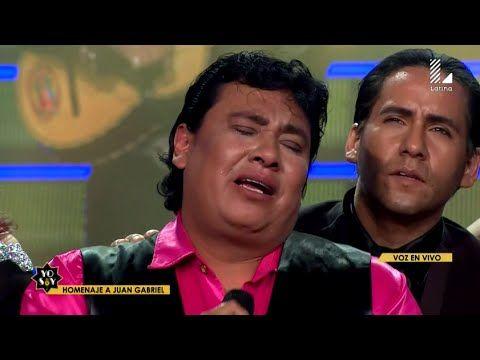 "Yo Soy 29-08-16 JUAN GABRIEL LLORA en vivo al Cantar ""Abrazame Muy Fuerte"" (Ronald Hidalgo) - YouTube"