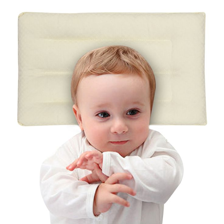 2017 Baby Pillow Newborn Infant Sleeping Positioner Soft Breathable Natural Plant Fiber Fabric Pillow Baby Bedding Product