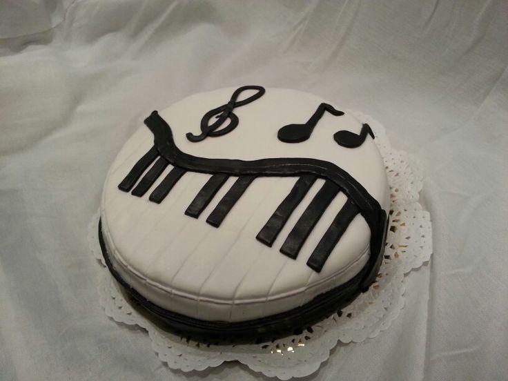 Torta Música.   La pasteleria de Martina. BsAs Argentina