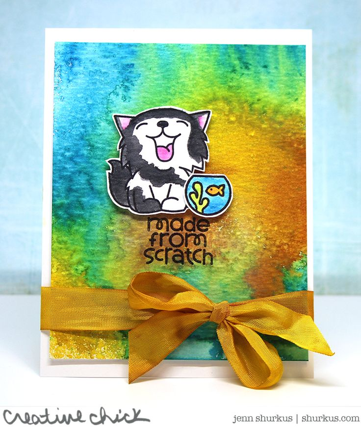 Simon Says Stamp Wednesday Challenge: Animal Magic featuring Paper Smooches | shurkus.com