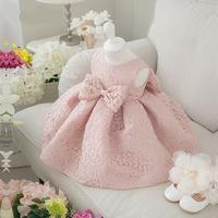 Elegant Big Bow Princess Dress – Mamatree