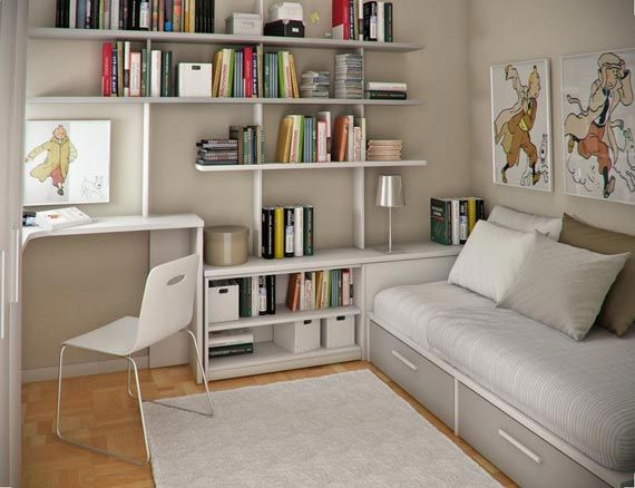 Unique Bedroom Office Design Ideas Organization Throughout Decorating