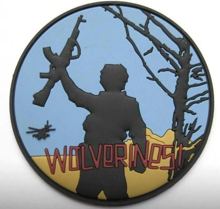 morale patches | Red Dawn morale patch | My cool guy stuff...!
