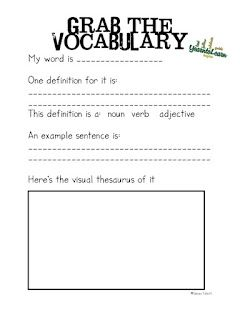 All Things Upper Elementary: Visual Thesaurus