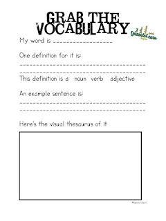 All Things Upper Elementary: Visual Thesaurus