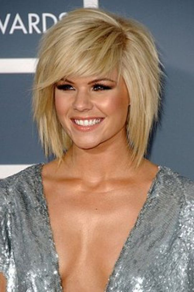 short hair styles for women- As I continue to grow my hair out, I may cut some layers into it so it resembles this?