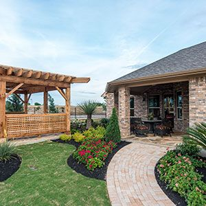 Green Gardens Were The Item Of Choice For An Austin Area Exterior In Taylor  Morrisonu0027s
