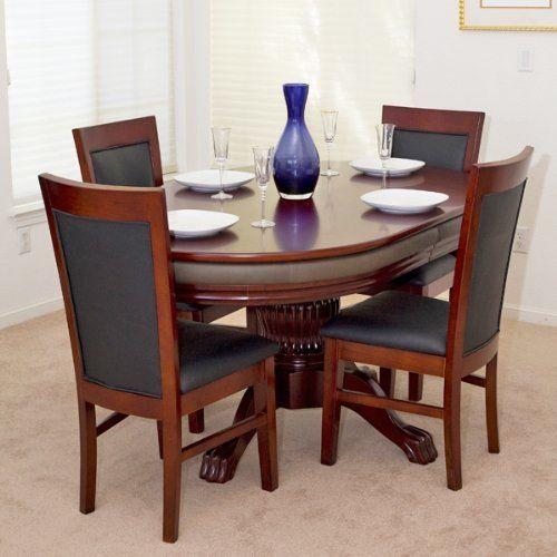 Albatross 2 In 1 Expanding Leaf Dining Poker Table By BBO Poker Tables.