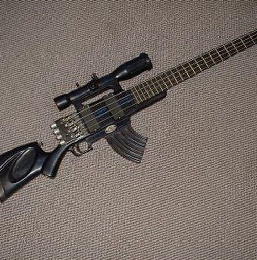 Humor: Curiosas Guitarras Clásicas   Carlos Santías Guitarrista