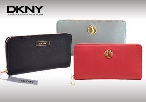 Διαχρονική κομψότητα κάθε στιγμή με δερμάτινα πορτοφόλια DKNY!
