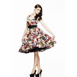 modèle patron gratuit robe rockabilly