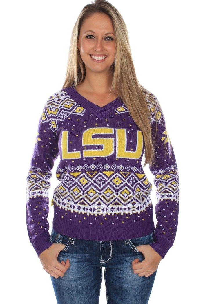 Women's Louisiana State University Sweater