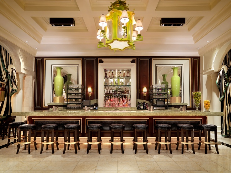 Grab a drink at Society Cafe Encore bar at Encore Las Vegas. -NN