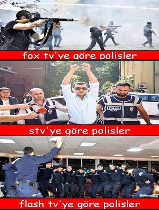 Tv Kanallarına Göre Polisler, Flash Tv'ye Dikkat - http://www.kahkahane.com/capsler/10/01/2015/tv-kanallarina-gore-polisler/