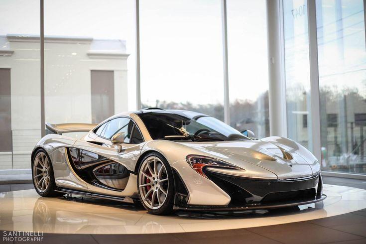 McLaren P1 in Silver
