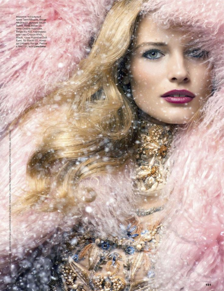 edita vilkeviciute by raymond meier for allure russia december 2012 | visual optimism; fashion editorials, shows, campaigns & more!