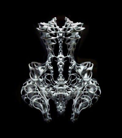 Iris Van herpen 3D printig dress