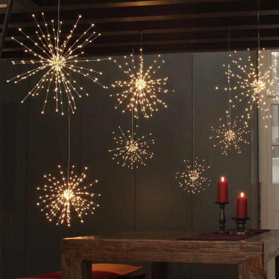 LED BATTERY OPERATED MICRO COPPER WIRE STRING FAIRY HOME PARTY WEDDING LIGHT YC