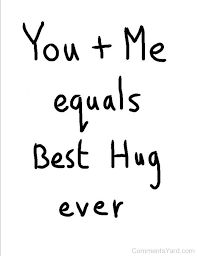 I could really use one of your hugs right now! The kind that turns into kisses!!!☺