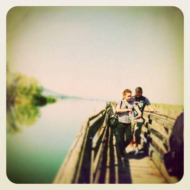 #altrasimeno si cammina sulle acque ma MAI come @lddio foto di @apeindiana
