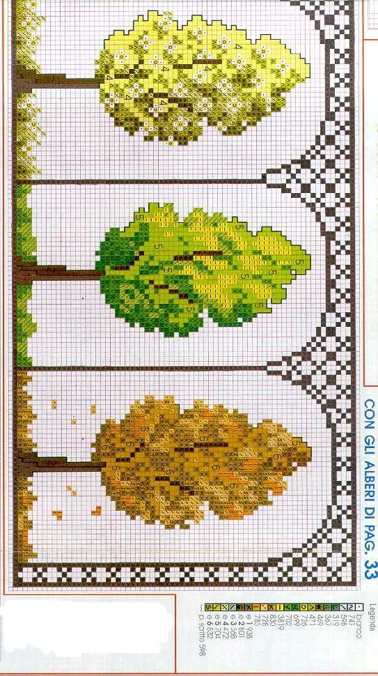 Cross Stitch Chart 4 SEASONS (2 of 2)