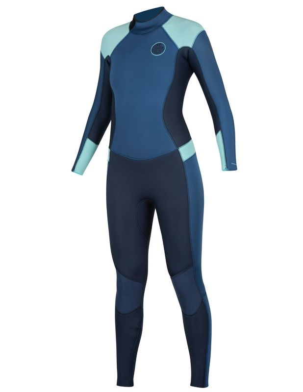 The Women's Dawn Patrol back zip offers the perfect balance between function and aesthetic appeal. This wetsuit has many of the high end features you will find in our Ultimate suits. We use a combination of E5 in the arms and Freeflex neoprene in the bo