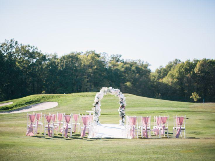 Wedding ceremony wedding arch