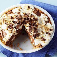 S'more Pie a la Marshmallow Creme