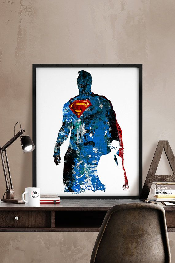 Hey, I found this really awesome Etsy listing at https://www.etsy.com/listing/233812013/superman-print-superman-poster-superhero