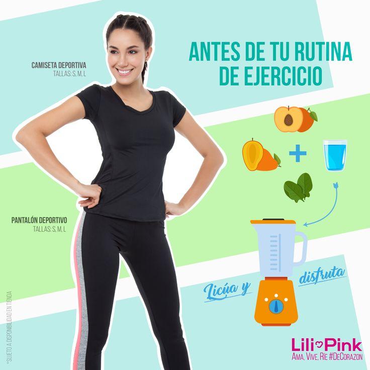 Anímate a salir y mantener tu cuerpo en forma con esta bebida nutritiva y esta camiseta deportiva por $19,900 + pantalón a $29,900. Ama, Vive, Ríe #DeCorazon