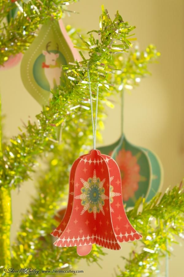 Bell Decoration Prepossessing 724 Best Christmas Crafts Part 1 Bells Baubles Sheep Images On Inspiration