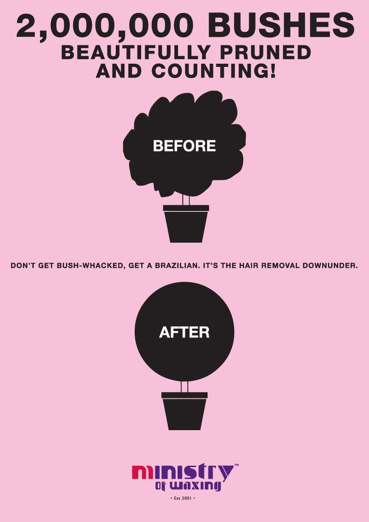 Up for a beautiful prune? Bring us your bushes! #ministryofwaxing