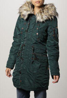 khujo - CLAIRE - Abrigo de invierno - bottle #zalando #kissmylook