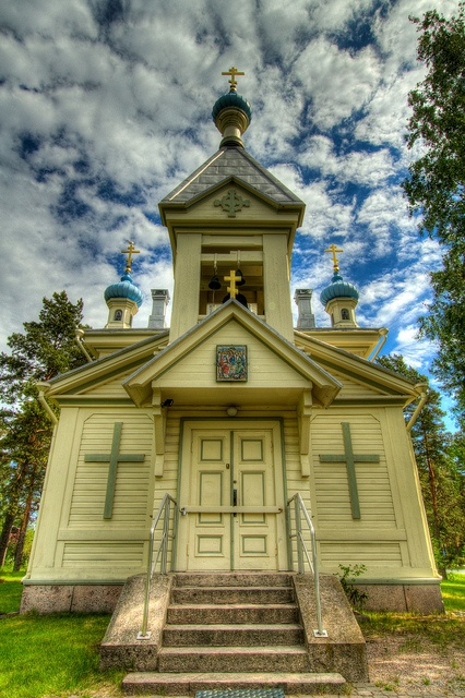 The Orthodox Church of Hanko, Finland by mirkkis74