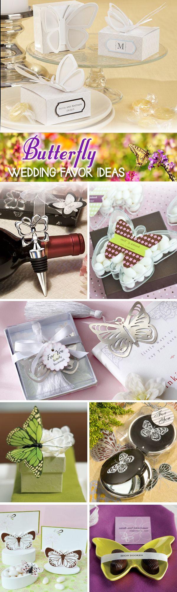 50 Beautiful Butterfly Wedding Favor Ideas