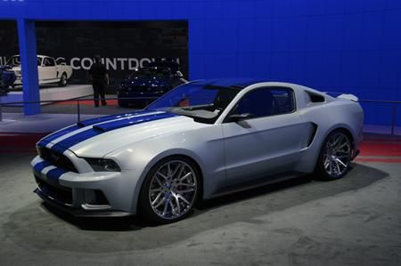 The Ford Mustang GT from Need for Speed