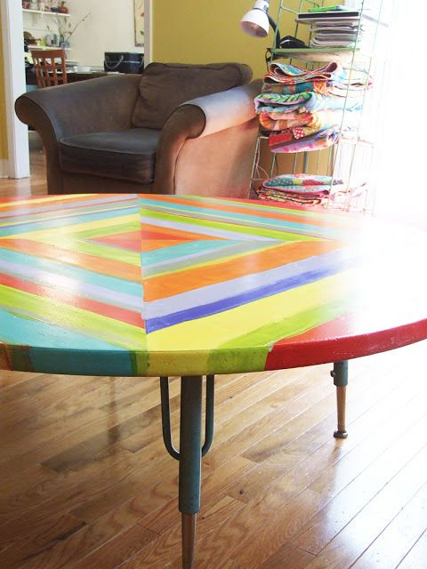 Charming Table Redo   Painting Formica   I Just Really Love This Table!