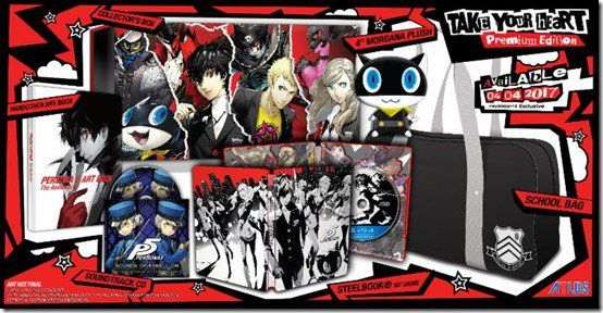 Watch The Persona 5 Premium Edition Unboxing