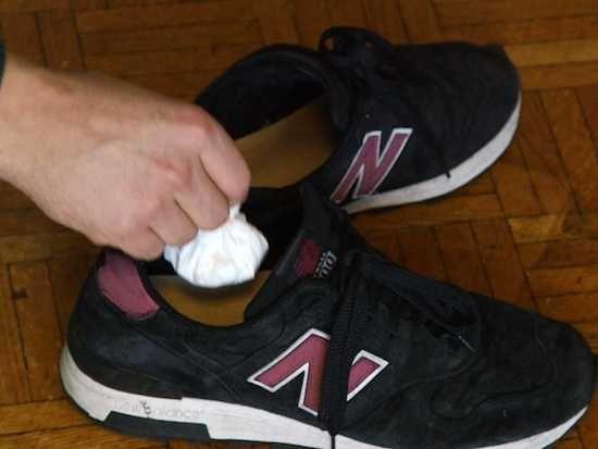 désodoriser chaussures filtre à café
