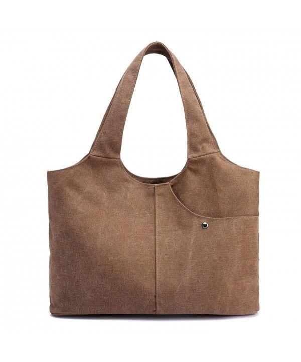 272aad8519ca Canvas Totes Hobo Bag Handbag BeachBag Daily Use LargeCapacity for ...