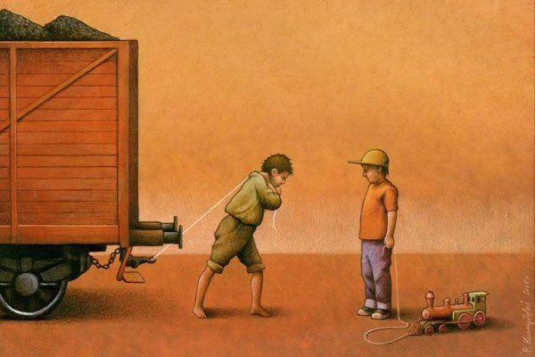 ¿Cómo destaparías las injusticias que se viven en el mundo sin usar una sola palabra? Con satíricas ilustraciones realmente reveladoras. Pawel Kuczynski, ilustrador polaco de 36 años, es sin duda a…
