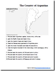 Learning About Argentina ~ Lesson Plans & Links